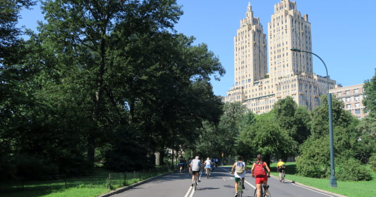 Central Park na rowerze!- jak to wygląda w praktyce?