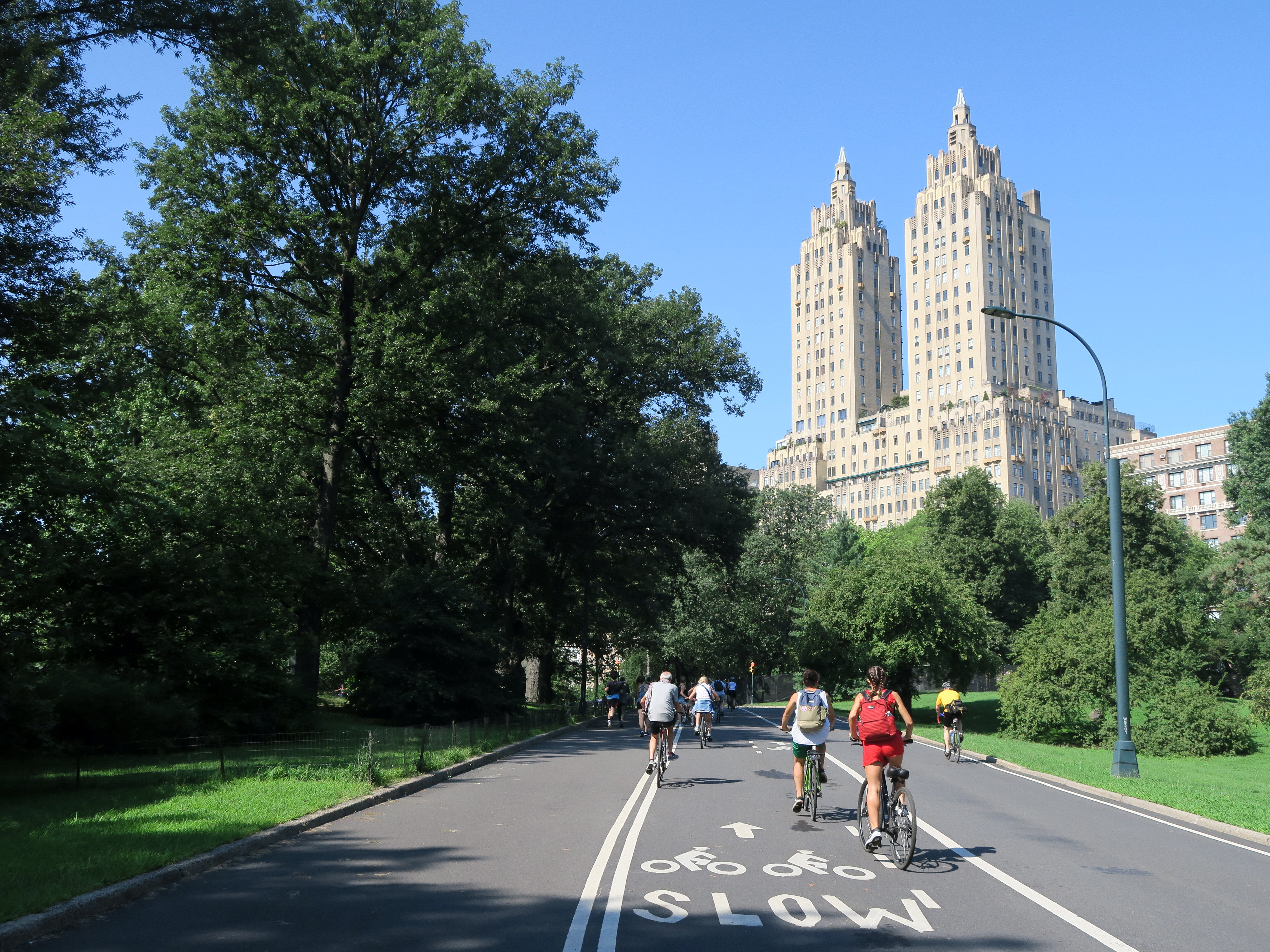Central Park na rowerze
